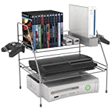 1 - Game Depot Wire Gaming Rack, Stores & organizes gaming gear, Made from durable, heavy-gauge steel wire, 45506114