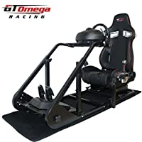 GT Omega ART Racing Simulator Cockpit RS9 Seat Suitable for the Thrustmaster TX Racing Wheel Ferrari 458 wheel TH8A shifter from GT Omega Racing