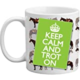 Freelogix Keep Calm And Trot On Novelty Horse Lover Rider Double Sided Gift Mug