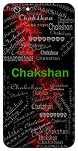 Chakshan (Hindu Boy) Name & Sign Printed All over customize & Personalized!! Protective back cover for your Smart Phone : Samsung Galaxy A-3