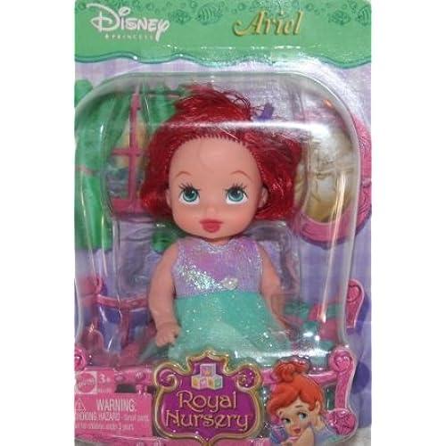 Disney (디즈니)Princess Royal Nursery Little Mermaid (리틀 머메이드) Ariel 돌 인형 피규어(병행수입)-