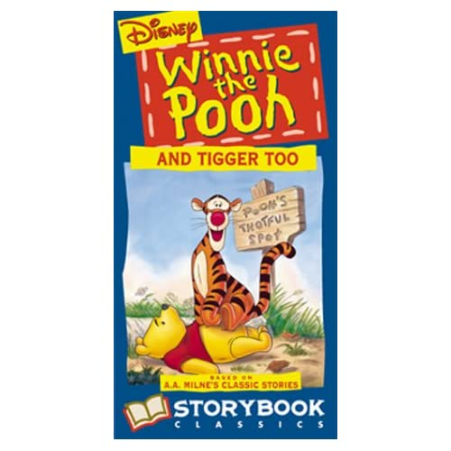Amazon.com: Winnie The Pooh And Tigger Too [VHS