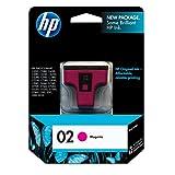 HP 02 (C8772WN) Magenta Original Ink Cartridge ~ HP