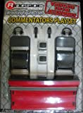 Toy - Commentators Wrestling Acccessory Playset - For Use With WWE & TNA Action figures
