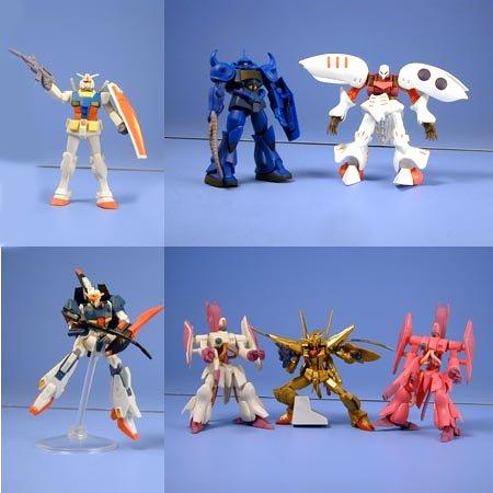 Gundam Mobile Suit Gashapon Selection 40 (Set of 7)