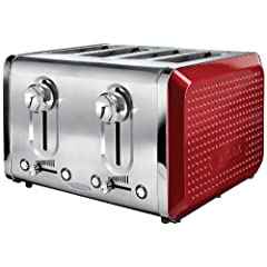 BELLA Dots Collection 4-Slice Toaster