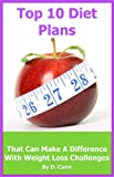 Top 10 Diet Plans: That Can Make a Difference with Weight Loss Challenges
