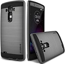 LG G4 Case, Verus [Air Space Cushion] LG G4 Case [Verge][Dark Silver] Extra Slim Hybrid Case - Verizon, AT&T, Sprint, T-Mobile, International, and Unlocked - Case for LG G4 Early 2015 Model