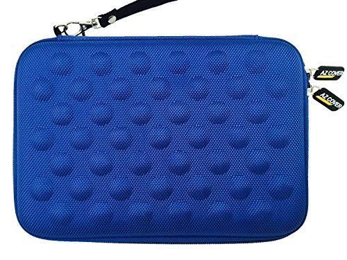 AZ-Cover 7.85-Inch Tablet Semi-rigid EVA Bubble Foam Case (BLUE) With Wrist Strap For Trio AXS 4G 7.85in 16GB Quad Core Tablet + One Capacitive Stylus Pen (Trio Axs Quad Core Tablet Cover compare prices)