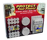 Floor-Care 118-Piece Self Adhesive Heavy Duty Felt Pads Kit