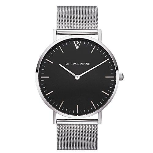 paul-valentine-armbanduhr-pearl-silber-mesh-damen-uhr-mit-elegantem-zeitlosen-design-und-feinstem-ed