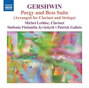 Gershwin: Porgy & Bess - arranged for clarinet and strings