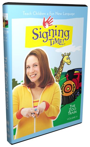 Signing Time! Volume 9: The Zoo Train DVD