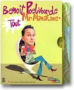 Benoît Poelvoorde : Tout Mr Manatane, L'Intégrale (33 épisodes) - Coffret 3 DVD