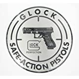 GLOCK SAFE ACTION ALUMINUM SIGN