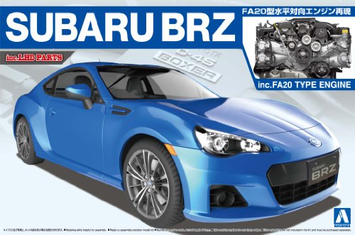 '12 Engine with 1/24 The Best Car GT Series No.104 SUBARU BRZ (Subaru Brz Model compare prices)