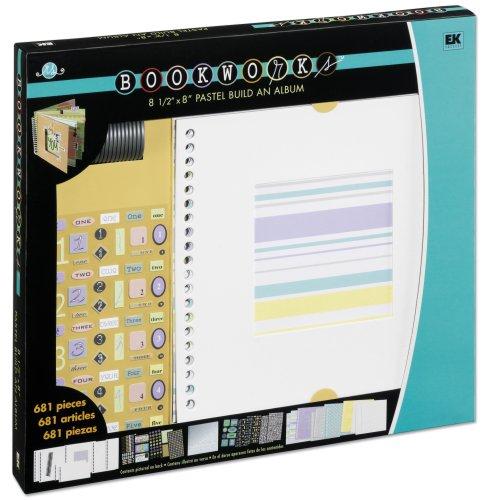 EK Success Bookworks Pastel Color Story Album Kit