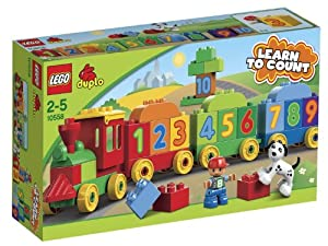 LEGO DUPLO 10558 -  Aprende Jugando: El Tren de los Números