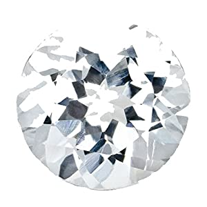 0.55 Ct Loose 5.3mm Round Natural Diamond Gemstone Si1/si2 Clarity And G/i Color