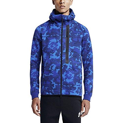 Nike Men's Tech Fleece Camo Full Zip Hoodie Small