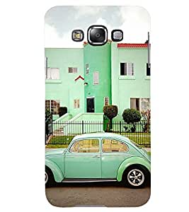Printvisa Vintage Automobile Pic Back Case Cover for Samsung Galaxy A8::Samsung Galaxy A8 A800F