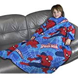 Disney Spiderman Ultimate Thwip Sleeved Fleece, Multi-Colour
