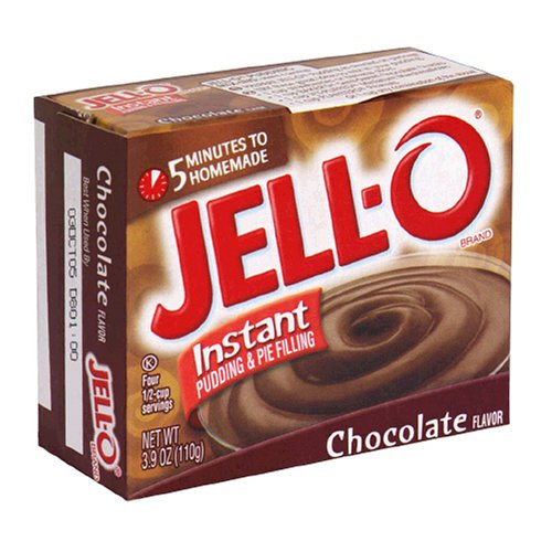 Buy Jell-O Instant Pudding & Pie Filling, Chocolate, 3.9-Ounce Boxes (Pack of 24) (JELL-O, Health & Personal Care, Products, Food & Snacks, Baking Supplies, Pie & Cobbler Fillings)