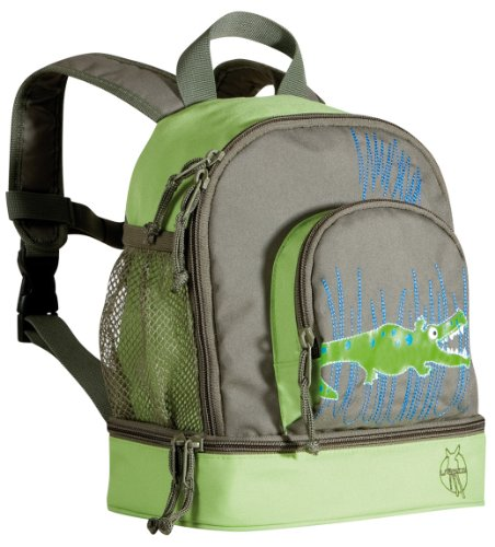 Lassig 4Kids Mini Backpack Crocodile