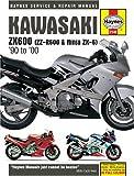 Kawasaki ZX600 (ZZ-R600 and Ninja ZX-6) Service and Repair Manual: 1990 to 2000 (Haynes service & repair manual series) Mike Stubblefield