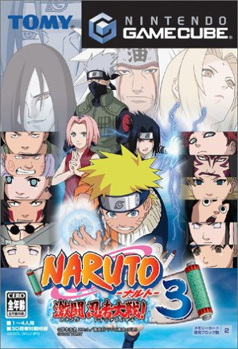 Naruto: Gekitou Ninja Taisen 3 [Japan Import] (Naruto Games For Gamecube compare prices)