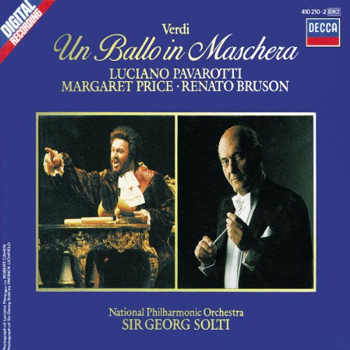 Ballo In Maschera (M.Price-Pavarotti-Solt) - Verdi - CD