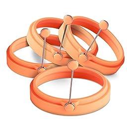 ORBLUE Egg Ring - Orange (4-Pack)