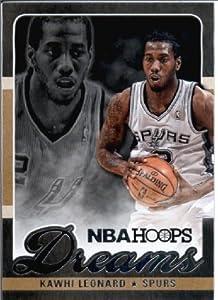 2013 2014 Hoops Dreams ENCASED Basketball Card # 24 Kawhi Leonard San Antonio Spurs by Hoops
