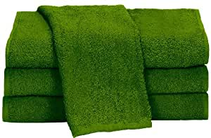 "Towels by Doctor Joe Apple Green 15"" x 25"" China Soaker, Pack of 12"