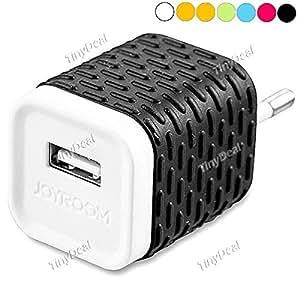 JOYROOM EU Plug 1A Power Adapter AC Wall Charger with USB Port EPACG-343977 - White