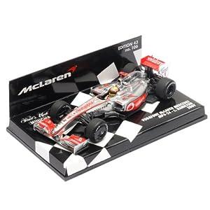 1:43 Minichamps Hamilton 2009 McLaren MP4/24 #1 F1