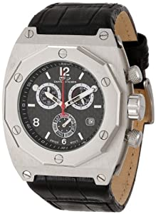 Daniel Steiger Men's 7000-M Falconer Swiss Quartz Chronograph Stainless Steel Watch