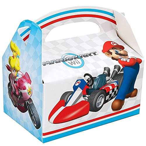 Mario Kart Wii Empty Favor Boxes (4 count) Party Accessory