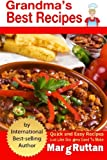 img - for Grandma's Best Recipes by Marg Ruttan (2013-11-04) book / textbook / text book