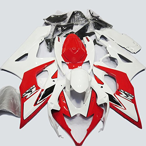 ABS Injection Molding - Motorcycle Fairing Kit for 2005 2006 Suzuki GSX-R 1000 K5 #1 (2006 Gsxr 1000 Seat Cowl compare prices)