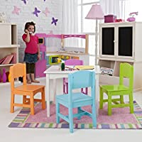 KidKraft Nantucket Big N Bright Table and Chair Set (26124)