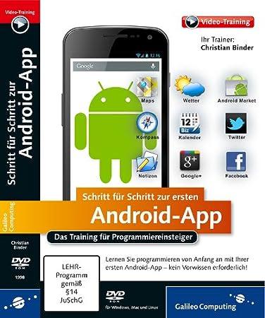 Schritt für Schritt zur ersten Android-App  (PC+MAC+Linux)