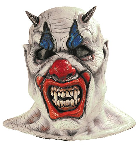 Misery Evil Insane Circus Scary Clown Horror Latex Adult Halloween Costume Mask