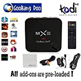 GooBang Doo MX3 MXIII KODI Android 4.4.2 4K TV Box Amlogic S802 CPU Quad Core Octa core ARM Mali-450 GPU XBMC updated to KODI 1GB Ram 8GB ROM 2.4G Wifi with Remote Control