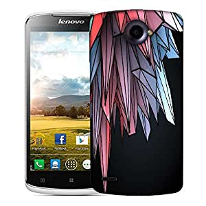Snoogg colorful crystals 2607 Designer Protective Back Case Cover For Lenovo S920