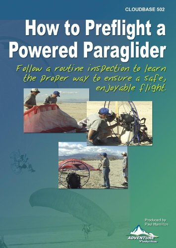 How to Preflight a Powered Paraglider