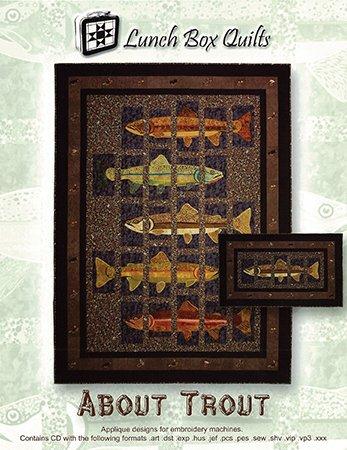About Trout Quilt Pattern