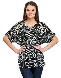 Colornext Cotton Brown Top for Women (Size: Medium)
