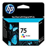 HP - HP 75 Inkjet Cartridge, 170 Page Yield, Tri-Color, Sold as 1 Each, HEW CB337WN