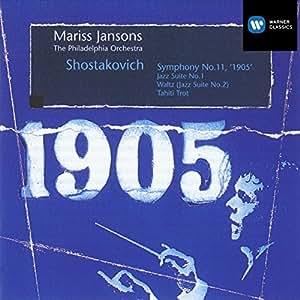 """Chostakovitch : Symphonie n° 11, """"1905"""" - Suite de Jazz n° 1"""